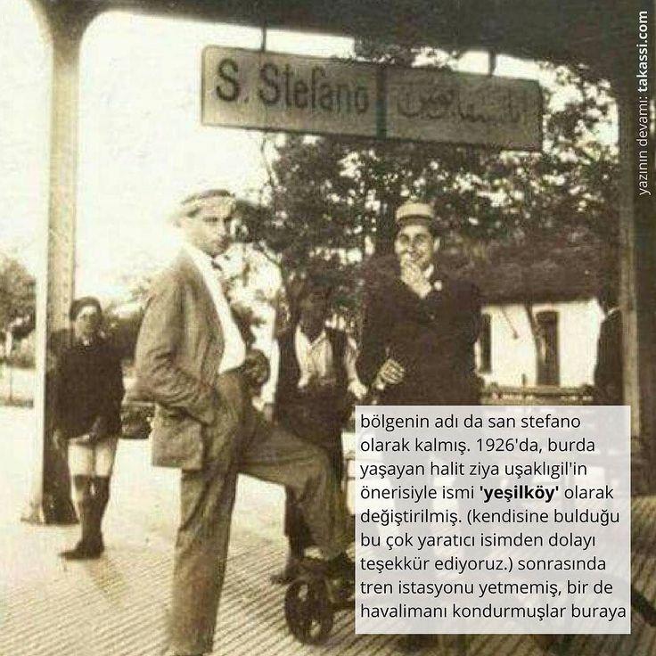 yazının devamı: http://takassi.com/sans #sanstefano #yesilkoy #halitziyausakligil #takassi