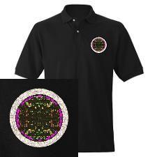 Golf Shirt #circle #light #kundalini #pijnappelklier #epifyse