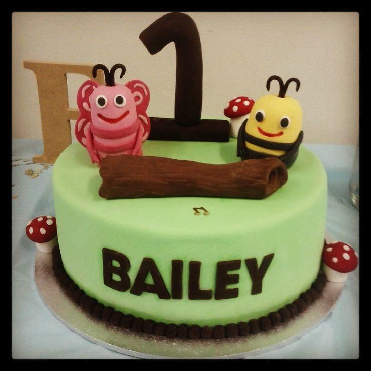 My little mans birthday cake 'didi & b'