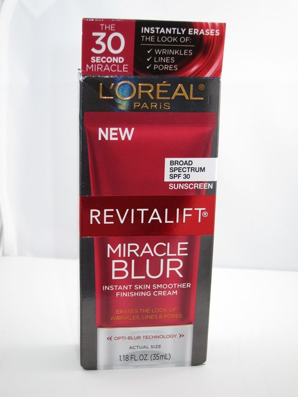 LOreal Revitalift Miracle Blur... supposed to diminish the look of large pores