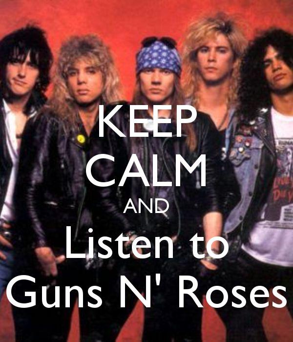 Guns n Roses...LOVE these guys!!!