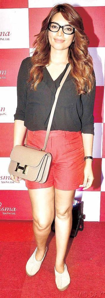 Shama Sikander at the launch of Charisma spa in Mumbai. #Bollywood #Fashion #Style #Beauty