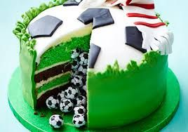 Image result for birthday sport cake ideas for 10 yr. old girl