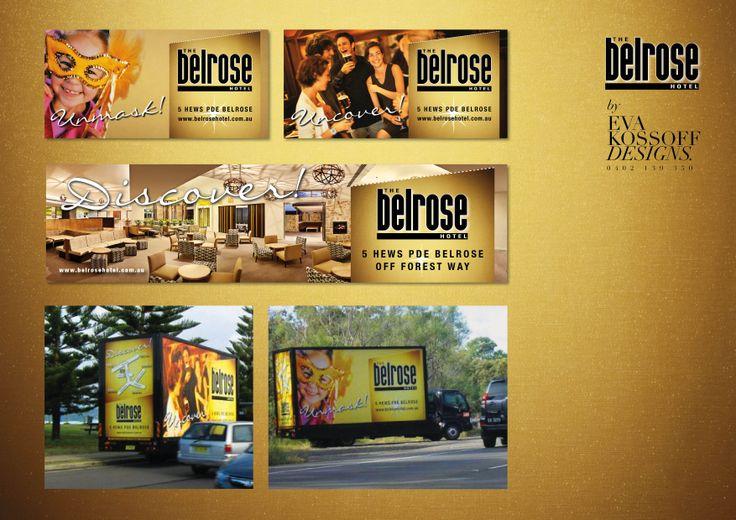 Belrose Hotel @ Eva Kossoff Designs