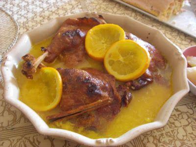 Duck a L'Orange - Feliz año!!! Pato a la naranja - El olor del café