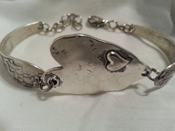 Spoon Bracelet Silverware Jewelry Vintage by jamessilverspoon
