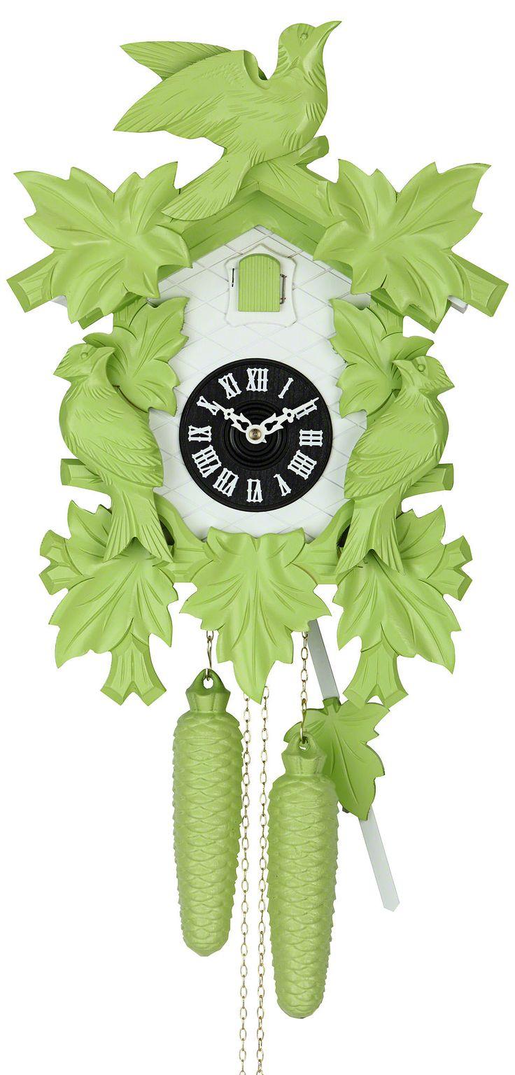 "Reloj de cuco estilo ""Madera tallada"" movimiento mecánico de 8 días 40cm de Hekas"