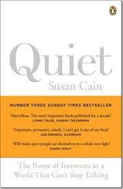 Quiet af Susan Cain, ISBN 9780141029191