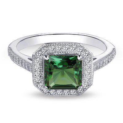 Diamonvita Couture� 1 1/4 ct. tw. Lab-Created Emerald