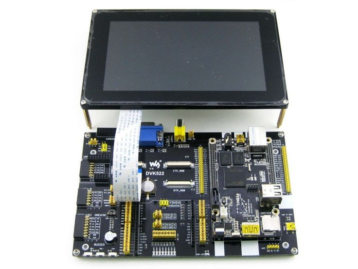 160.15$  Watch now - http://ali4d1.worldwells.pw/go.php?t=32792580770 - Modules Cubieboard 2 Pack C with Cubieboard2 A20 Dual Core ARM Cortex A7 and DVK522 Expansion Board & 7inch Capacitive LCD & 7 M