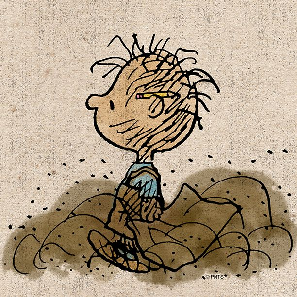 Pigpen - and I love the pencil behind the ear! | Smiles ...