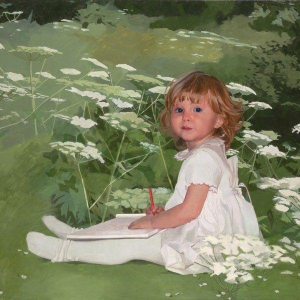 Paul Brason – Romy. Oil. 76 x 102 cm.