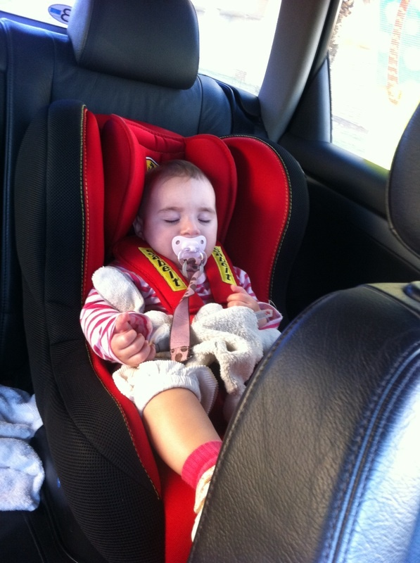 Ferrari carseat, from newborns