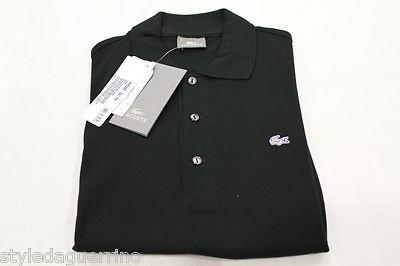 Lacoste by Guerrino Style UOMO*MAN  PREZZO/PRICE  € 40  http://www.ebay.it/itm/POLO-LACOSTE-UOMO-SLIM-FIT-NERA-/130897232713?pt=T_Shirt_uomo=item1e7a154349