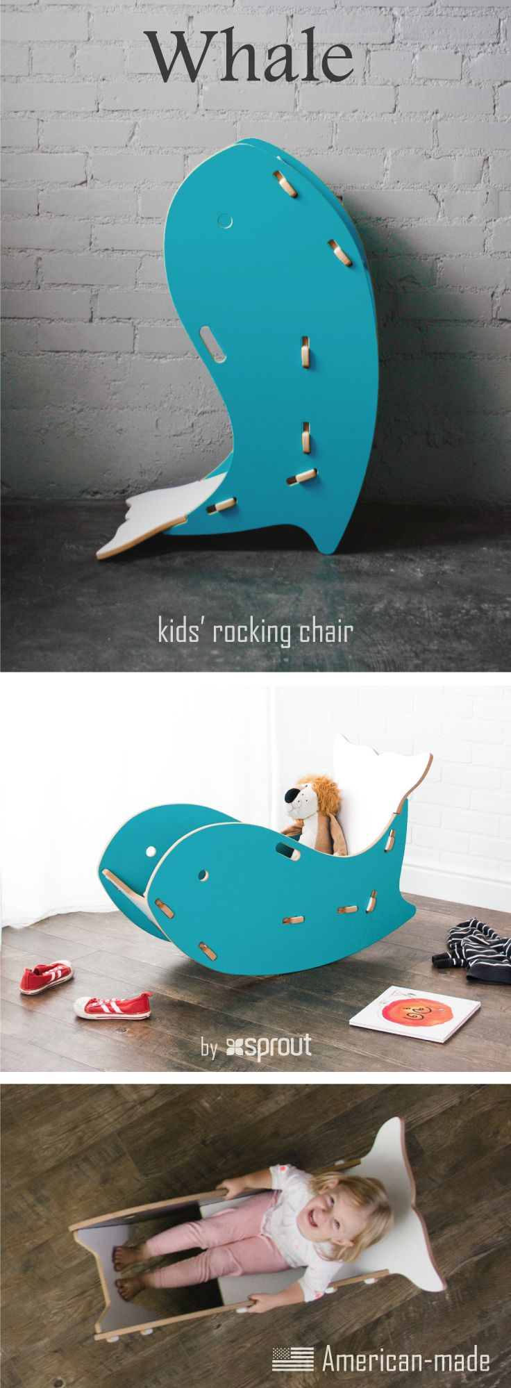 32 best whale rocker kids rocking chair images on pinterest