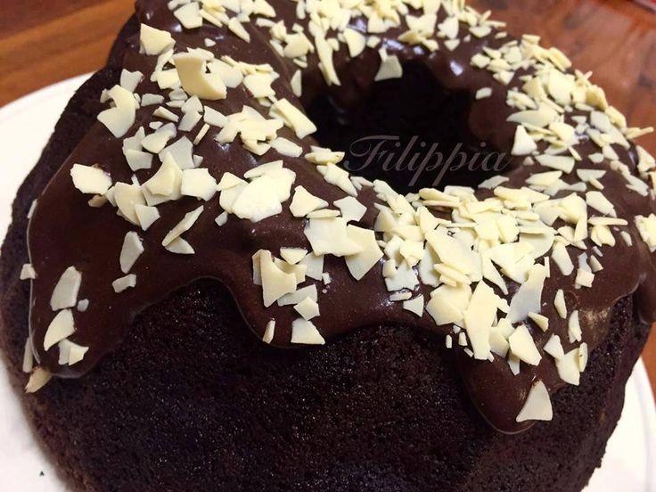 Σοκολατένιο Κέικ με Πράσινο κολοκύθι