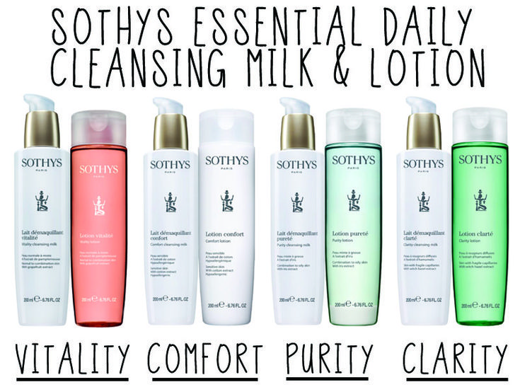 Sothys Cleansing Milk & Lotion!!  #Sothys has updated their formulations & packaging!  Don't be afraid of change!  This is an amazing line of European skin care!