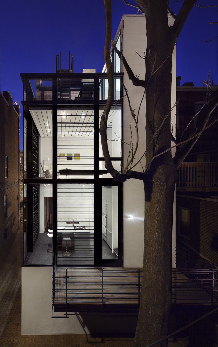 Different Architectural Styles Exterior House Designs: Gallery Of Barcode House / David Jameson Architect