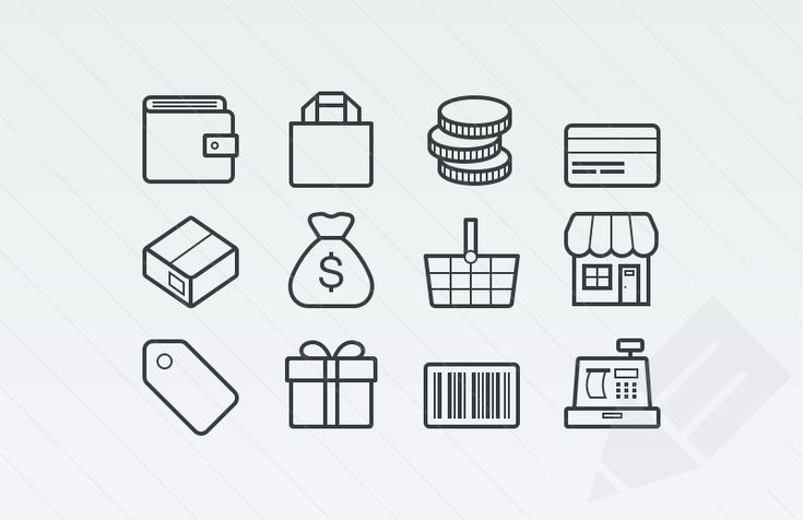 Vector-Ecommerce-Icons