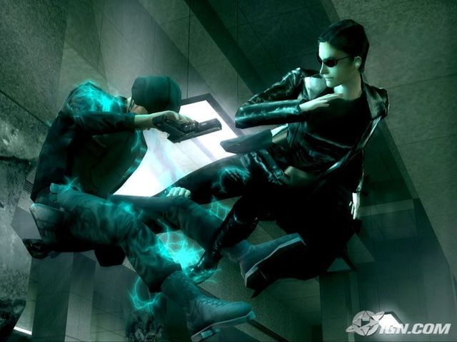 The Matrix Path of Neo Game Screenshots