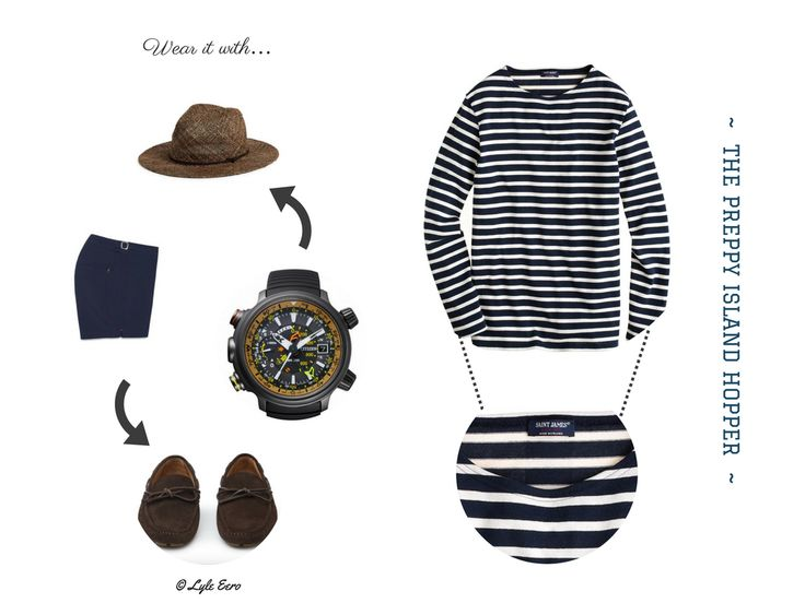 Outfit Inspiration: The Preppy Island Hopper (monk + eero)