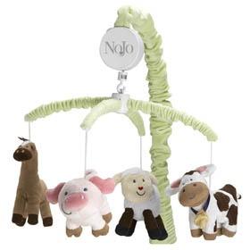 Farm Babies Musical Mobile