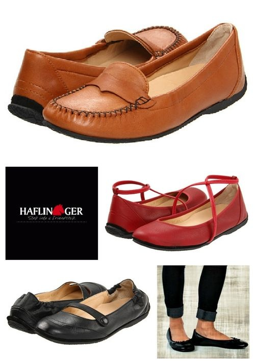 Germany-made Haflinger is known for their boiled wool slippers, but did you know they make buttery soft leather flats? Good for bunion sufferers.