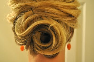 Easy updo for parties