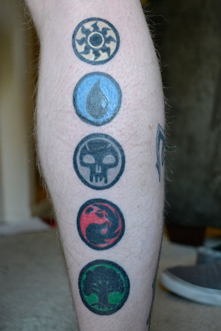 21 best magic images on pinterest mtg tattoo ideas and vinyl decals if my austin decided to get a magic tattoo i think this would look best biocorpaavc