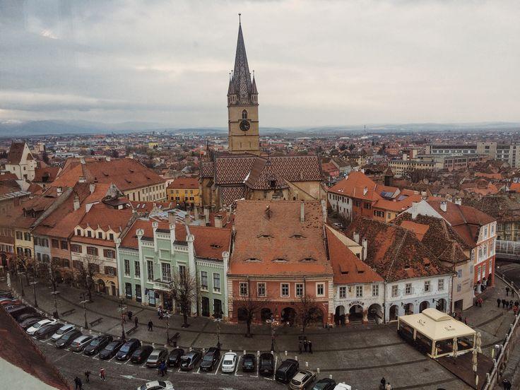 My favorite city, Sibiu❤️ Visit Sibiu! Transylvania, Medieval Town!