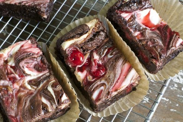 ... double chocolate quinoa brownies recipe yummly double chocolate cherry