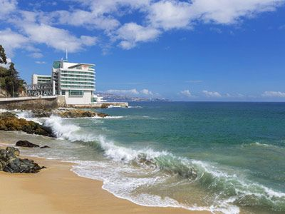 Sheraton Miramar Hotel & Convention Center, Vina del Mar, Chile. Rated 9.1: Marine