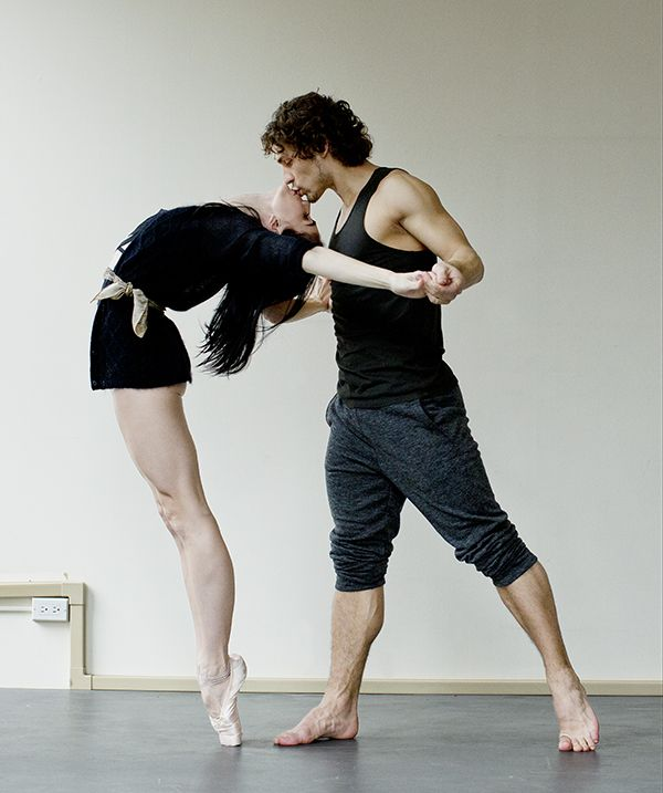 """In Flight"" -- Ballet Power Couple Natalia Osipova and Ivan Vasiliev are taking the dance world by storm. #Summer13"
