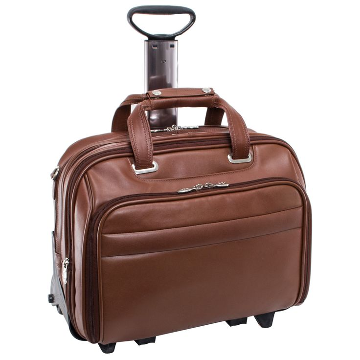 McKlein Midway Checkpoint-friendly 17-inch Rolling Laptop Case