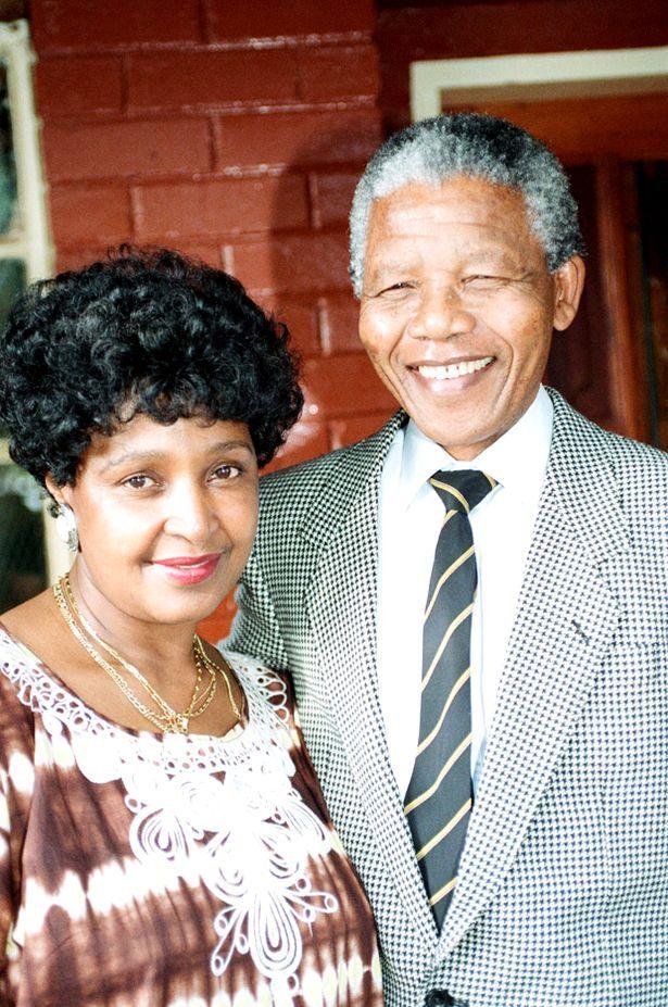 Winnie Mandela Dead | Nelson Mandela leader of the African National Congress (ANC) seen here ...