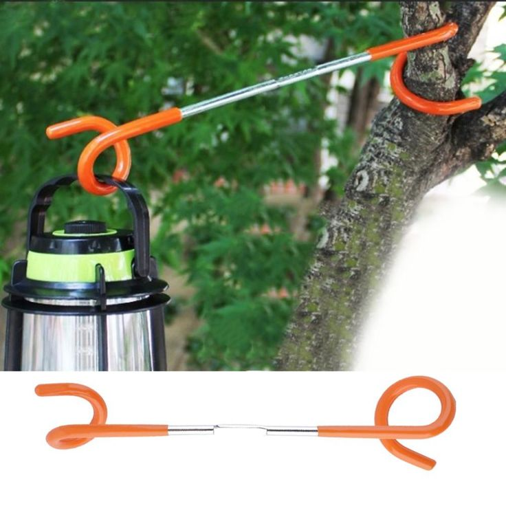 1pc 2 way Lantern Light Lamp Hanger Tent Pole Post Hook for Outdoor Camping free shipping - 10 MINUS