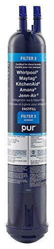 Whirlpool 4396841 PUR Push Button Side-by-Side Refrigerator Water Filter ** Find out more details @ http://www.laminatepanel.com/store/whirlpool-4396841-pur-push-button-side-by-side-refrigerator-water-filter-2/?bc=300616063121