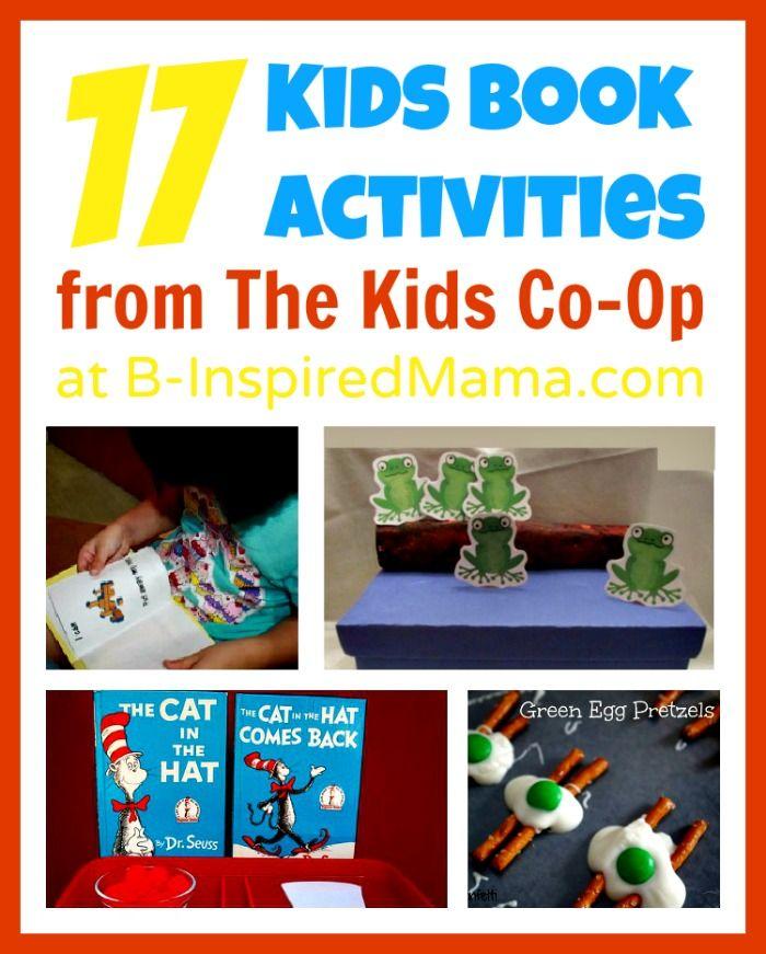 17 kids book activities from the kids co op - Kids Activities Book