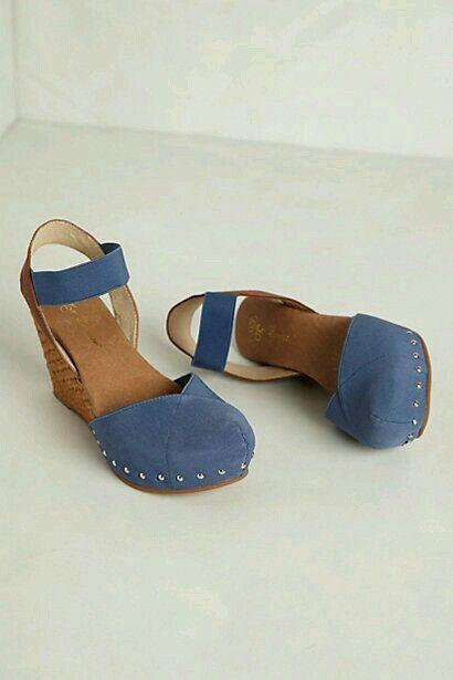 Suecos Shoes, Tacon Corrido, Zapatos Altos, Alpargatas, Calzados, Sandalias, Alpargatas Cuñas, Cuñas Azules, Zapatos