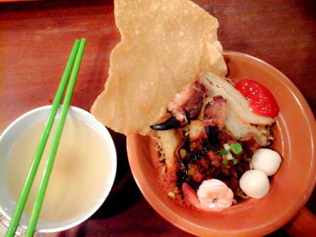 Mie seafood