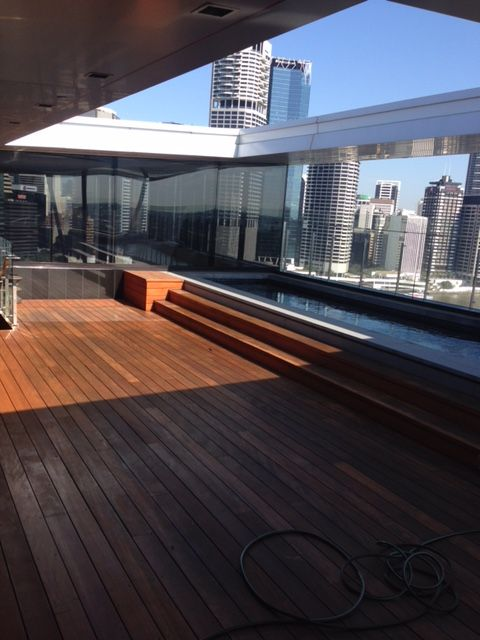 Decking with Quantum Timber Finishes TIMBREPLUS DECKING
