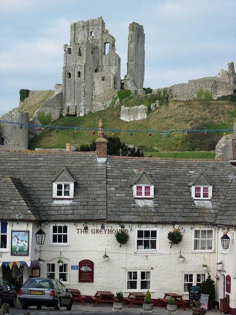 England Travel Inspiration - The Greyhound & Corfe Castle ~  The…