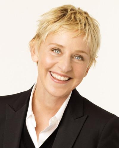 Ellen Degeneres....