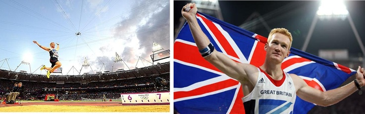 Olympic Games gold medalist: Greg Rutherford of Great Britain.