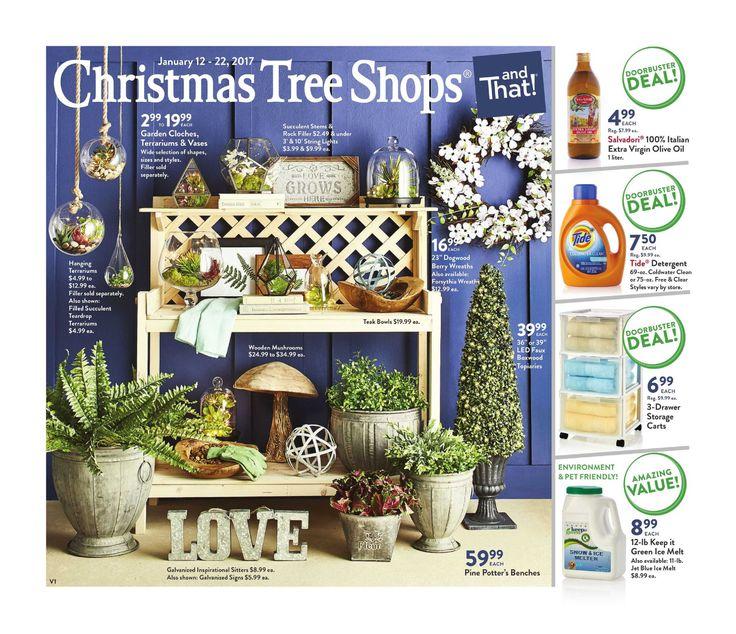 Christmas Tree Shops Circular January 11 - 22, 2017 - http://www.olcatalog.com/home-garden/christmas-tree-shops-ad.html