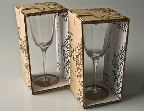 wine glass packaging