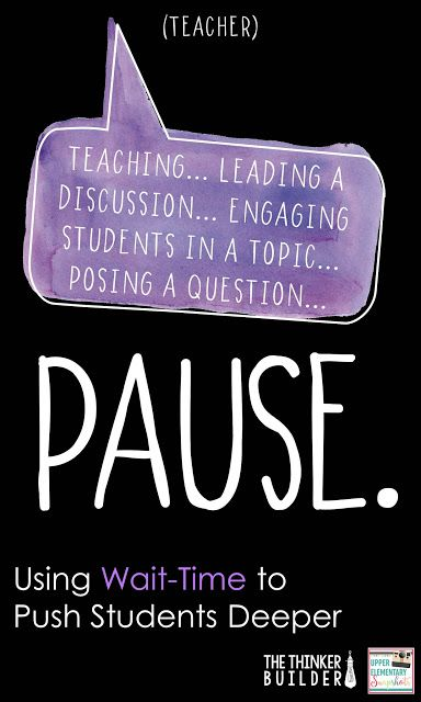 Three effective ways to use wait-time to engage more students and get them thinking harder.