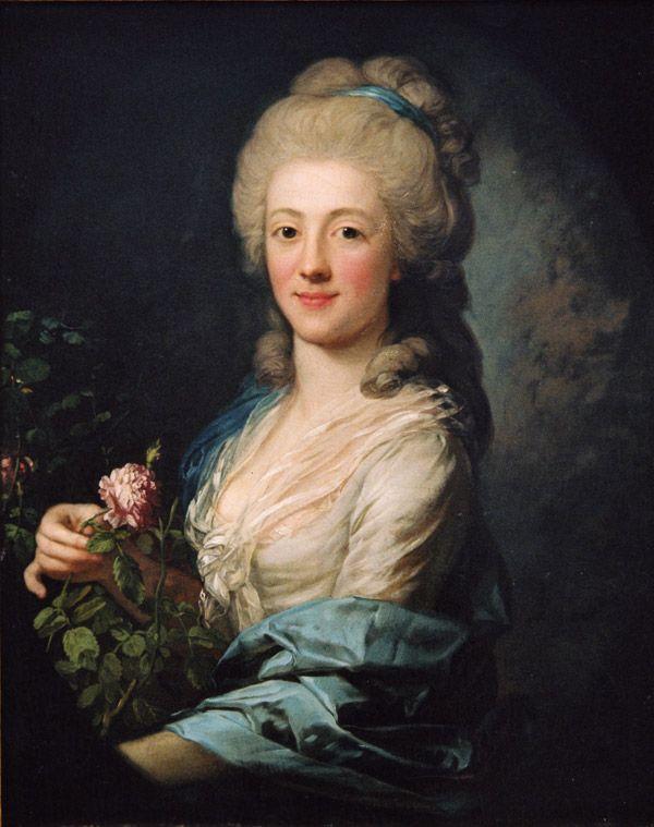 Juliane Wilhelmine Bause, um 1785.