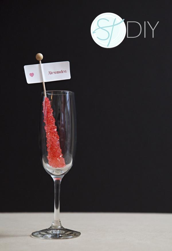 Adorable Escort Card Idea! #sweet