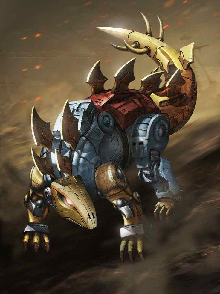 Dinobot Snarl Artwork From Transformers Legends Game